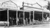 Gamble's Shops 1 and 2, Rosemont Road, Waihi, 1920