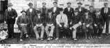 Some of the students at the Karangahake School of Mines (about 1900).