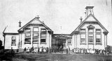 Waihi East School - Opened 1907 - Burned 1939