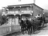 Gordon's Coach and Boarding House at Waitekauri.