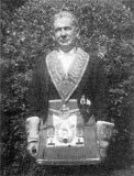 Charles Mettam in his Masonic Regalia.