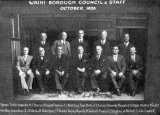WAIHI BOROUGH COUNCIL and Staff, October 1935